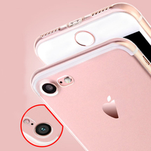 50pcs/lot Full Camera Protection Soft Tpu Case Cover  For iPhone 7 7 Plus with dustproof plug design