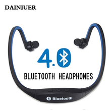 Sport Bluetooth Earphone S9 Plus SD Card Slot Auriculares Bluetooth Headphones Microphone For iphone Huawei XiaoMi Phone