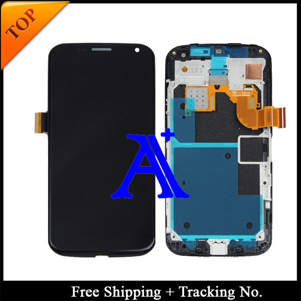 Free Shipping + Tracking No  100% tested  For Motorola X Moto XT1058 XT1060 XT1053 LCD Touch Screen Assembly Frame <br><br>Aliexpress