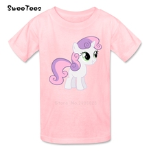 Unicorn Horse T Shirt Baby 100% Cotton Short Sleeve Round Neck Tshirt Children Clothing 2017 Discount T-shirt For Boys Girls