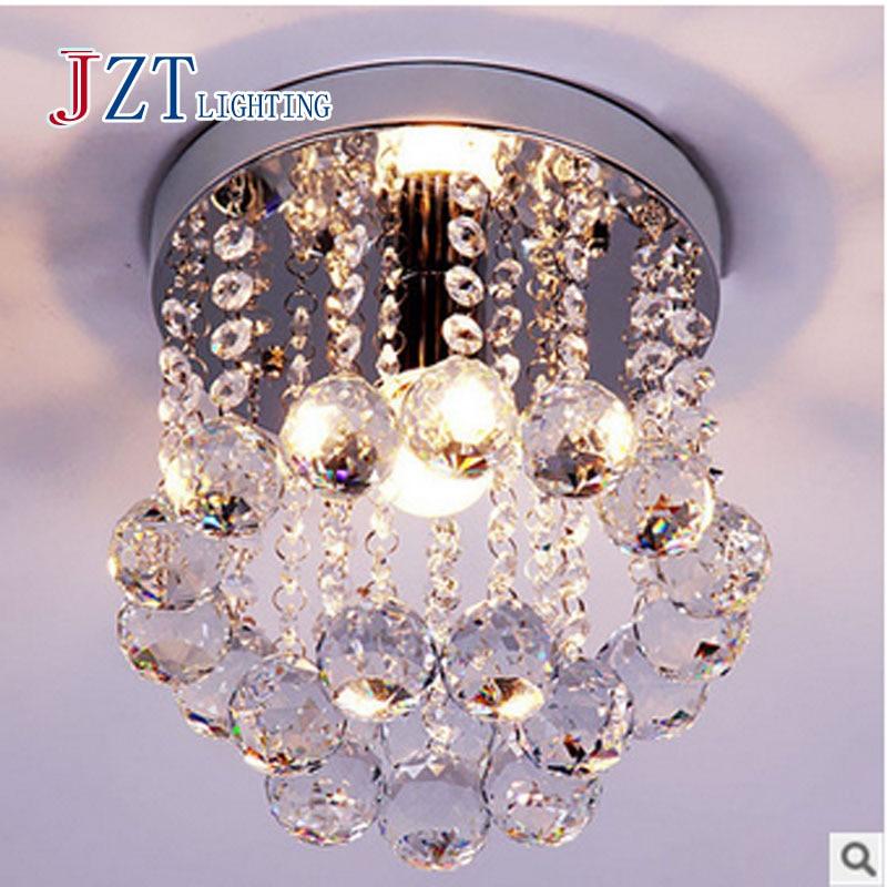 T Circular Crystal The Corridor lights Restaurants Balcony Bedroom Hallway lights LED Crystal Lamp <br><br>Aliexpress