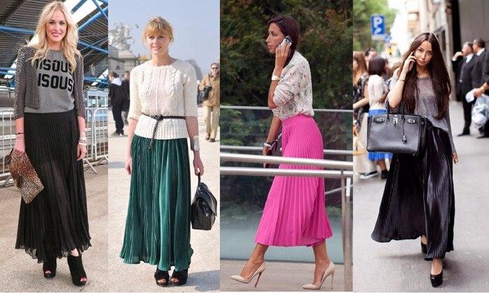 Как показывает исследование осенне-летних коллекций модных домов и дизайнеров с мировым именем, юбка-плиссе стала