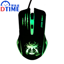 Snigir brand Wired 7D 6 Buttons USB Laptop mouse gamer Optical computer PC Gaming Mouse Mause Mice for DOTA2 CS GO Gamers pad