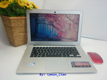 14inch laptop notebook Windows10/8/7 In-tel Celeron J1900 Quad Core 2.0GHz 4G DDR3 750G HDD Webcam slim netbook pc computer