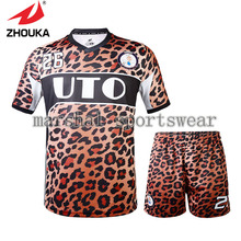 Hot Sale zhouka full sublimation soccer uniforms in high quality for men(China)