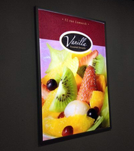 Wall Mounted Super Slim Restaurant Menu Boards LED Illuminated Signs Magnetic Lightbox(China)