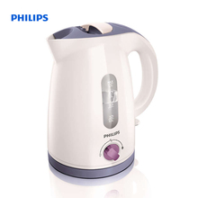 Philips Viva Collection Kettle 1.2 L 2400 W Temp control White lavender Hinged lid HD4678/40