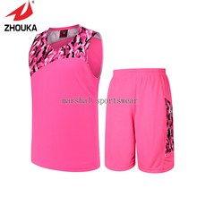 Hot sale 2016 newest Cool camouflage Basketball Uniforms For Men 100% polyester High Quality