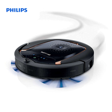 Philips SmartPro Active Robot vacuum cleaner 3-step cleaning system 120 min runtime Click-on mopping Virtuall wall FC8820/01