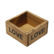 Classical Style 1Pcs Hot Sale Treasure Chests Vintage Retro Wooden Love Jewelry Antique Trinket Cosmetic Storage Box