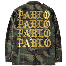 2017 Autumn Winter 3 Kanye West Pablo Camouflage Men Jacket Coat Army Green Hiphop Paul Streetwear Military Jacket