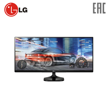 "Monitor LG 25"" 25UM58-P Black computer display"