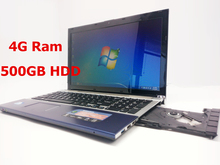 15 inch Gaming Laptop Notebook Computer Wtih DVD 4GB DDR3 Ram 500GB HDD in-tel celeron J1900 Quad Core 2.0Ghz WIFI webcam HDMI(China)
