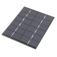 UXCELL 6V 2W Diy Polycrystallinesilicon Solar Panel Power Cell Battery Charger 136Mm X 110Mm