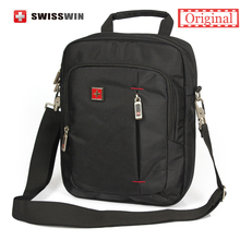 "Buy Swiss Brand Small Shoulder Bag Men Daily Messenger Bag Phones 11"" Tablets Unisex Vintage Crossbody Bag Satchels bag for $40.69 in AliExpress store"
