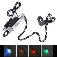 LED Illuminated Indicator FishingChain Hanger Swinger Fishing Equipment Accessory