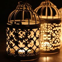 2017 Votive Iron Candle Holders Candle Lantern Moroccan Candlestick Party Home Decoration