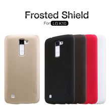 "Buy Nillkin Frosted Shield Case LG K10 LTE K420N K430 K430ds F670 M2 5.3"" Ultra Thin Slim Hard Back Cover Free Film NS02 for $7.19 in AliExpress store"