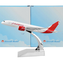 Colombian national airline  White Boeing 787  16cm airplane child Birthday gift plane models toys Free Shipwping Christmas gift