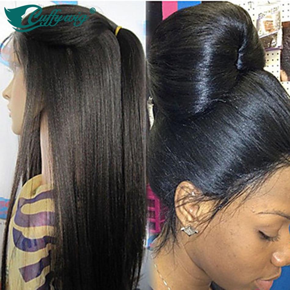 Long Straight Full Lace Human Hair Wigs Italian Yaki Full Lace Wig/Lace Front Wig Unprocessed Virgin Brazilian Light Yaki Wig<br><br>Aliexpress