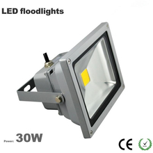 Free ship China factory Wholesale outdoor led flood light 30W IP65 waterproof 3 years warranty CE Rohs 100LM/W Epistar chip