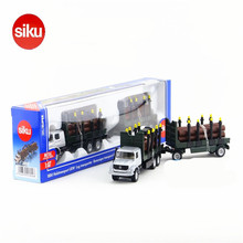 SIKU 1:87 Diecast Metal Truck Toys, Simulation Alloy Timber Transport Cars Toy Birthday Gift Collectible Car Model / Brinquedos