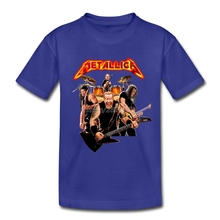 Metallica Band T Shirt 100% Cotton Rock Music Boy T-shirt For Kids Camiseta Animal Brand Clothing Kids Camisa