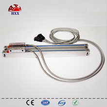 2016 High Accuracy linear glass optical ruler measure length 5u 200mm to 1000mm for all machines with one piece