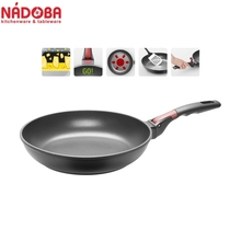Frying pan with non-stick coating and detachable handle 28 cm NADOBA series VILMA