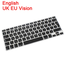 Multi Language Silicone Keyboard Cover for MacBook Air Pro Retina Mac 13 15 17inch