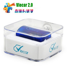 5pcs/lot Viecar 2.0 2016 Hot Selling MINI ELM327 Bluetooth OBD2 Scanner Auto Diagnostic Tool For Multi-Brand Cars(China)