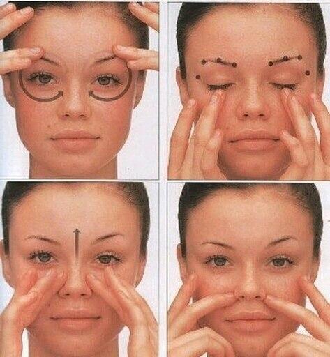 Как сделать массаж для глаз ребенку