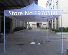 4*6 m large gazebo, outdoor sun shading , folding tent  with white iron frame  plus one roof , any colors available, no logo