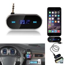 Fashion Hot Sale Practical Car Kit Hands Free Wireless FM Transmitter MP3 Player USB SD LCD Remote Very Good @111