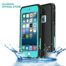 100% Sealed Waterproof Case For iPhone 6 6s Plus Slim Luxury Underwater Life Dirt Proof Shockproof Swim Protective Cover Bag