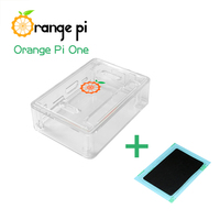 Orange Pi ABS Transparent Protective Orange Pi one case and Heating Sink for Orange Pi ,Better than Raspberry