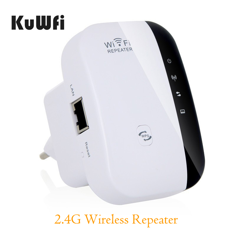 Wireless Wifi Repeater 2.4G Network Router RJ45 300Mbps Range Expander Signal Antennas WIFI Booster Extend for Enterprise EU/US(China)