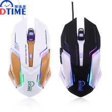 Snigir brand USB laptop Computer pc notebook office Optical Wired Gaming mouse mice for DOTA2 World of tanks gamers LED mause