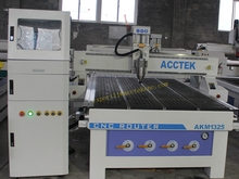 AKM1325 4 axis  CNC Router with CE standard/steel table/Linear guide  rails/ stepper motor/Fuling inverter