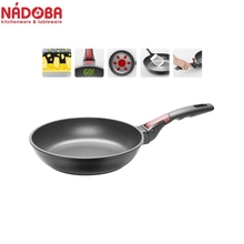 Frying pan with non-stick coating and detachable handle 24 cm NADOBA series VILMA