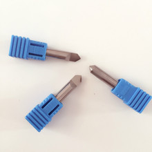 WENXING key cutting machines replacement 0060B 90 degree spade drill for key duplicating(three pcs/lot)(China)