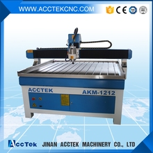 Best quality cnc router for wood AKM1212 from Jinan Acctek! mdf manufacturing machinery(China)