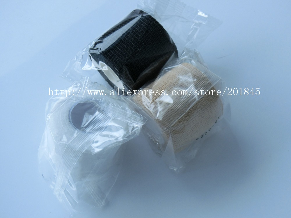 Wholesale 5cm x 4.5m 96Pcs/Lot Self Adhesive elastic Cohesive Nonwoven Bandage wrap tape multi colors<br><br>Aliexpress
