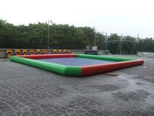 cheap price colorful PVC inflatable swimming pool /pool for kids swimming with good quality(China)