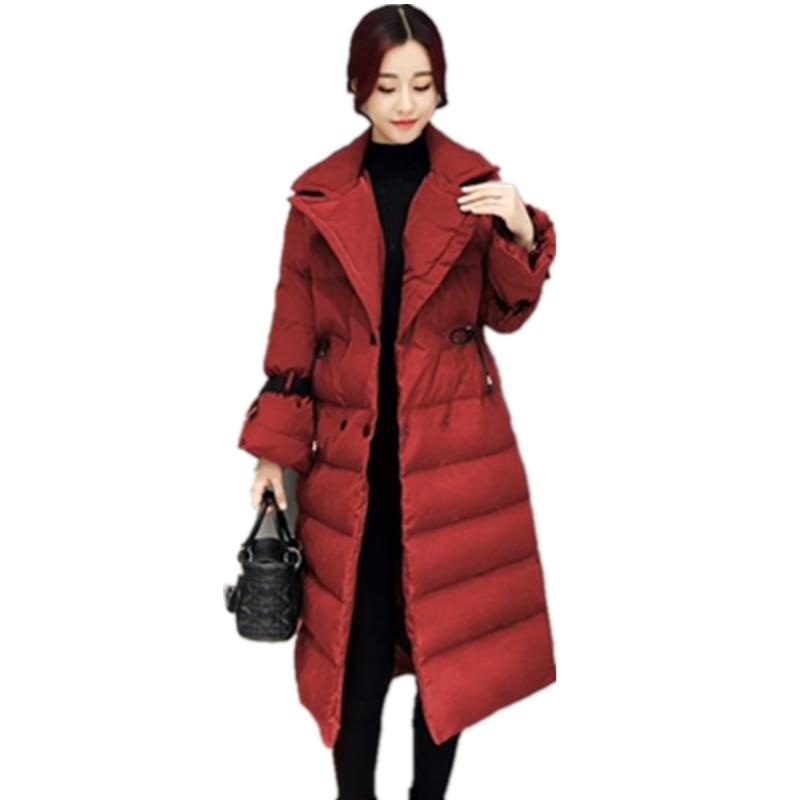 New style Winter Coat Cotton jacket Women Winter jacket Long Thick Stand collar High quality Eiderdown cotton Warm coat CM563Îäåæäà è àêñåññóàðû<br><br>
