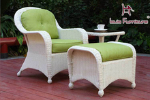 The high-end garden style outdoor rattan chair sofa single modern fashion