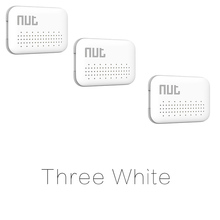 3Pieces Nut Mini Smart KeyFinder, itag Bluetooth Tracker Locator Luggage Wallet Phone Key Anti Lost Reminder Update from Nut 2(China)