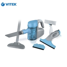 A set of vacuum cleaner VITEK VT-1810 B 1000 watts cyclonic filter 07 l with bag 100 watts