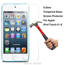0.3mm 9H Tempered Glass Protective Film Screen Protector For Apple iPod Touch 5 5th 6 6th Gen Generation Guard pelicula de vidro