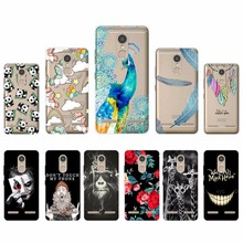 Fashion Phone Case For Lenovo Vibe K6 Protective Shell for lenovo k6 Soft Silicone TPU Back Cover Cases For Lenovo Vibe K6 5.0""